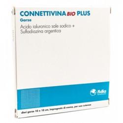 CONNETTIVINABIO PLUS GARZA 10 X 10 CM 10 PEZZI