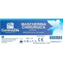 MASCHERINA CHIRURGICA 3 PEZZI